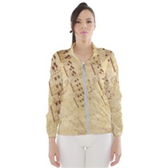Music-melody-old-fashioned Women s Windbreaker by Sapixe