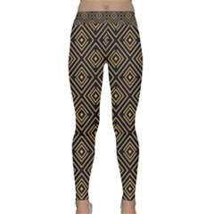 Art Deco Vector Pattern Classic Yoga Leggings by webstylecreations