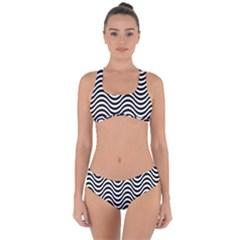 Waves Criss Cross Bikini Set