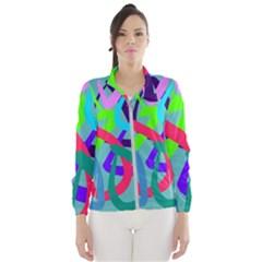 Colors Women s Windbreaker by kiernankallan