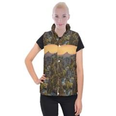 Landscape-cannon-river-mountain Women s Button Up Vest by Sudhe