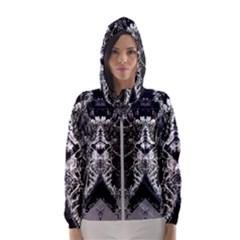 Alien Deco Women s Hooded Windbreaker