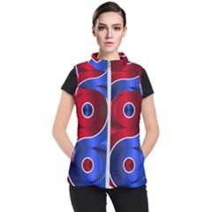 Yin-yang-eastern-asian-philosophy Women s Puffer Vest