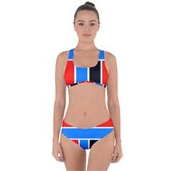 Crossing Lines Criss Cross Bikini Set by impacteesstreetweareight