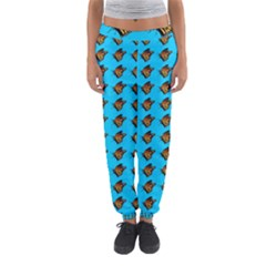 Monarch Butterfly Print Women s Jogger Sweatpants by Kritter