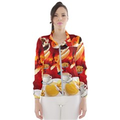 Through Space And Time 4 Women s Windbreaker