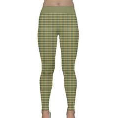 Plaid Design 7 Classic Yoga Leggings