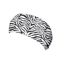Zebra Skin Pattern Yoga Headband by coxoas