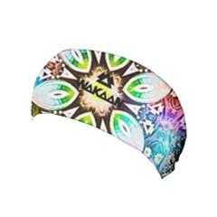 375 Chroma Digital Art Custom Yoga Headband