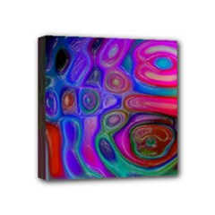space-colors-2-988212 Mini Canvas 4  x 4  (Stretched)