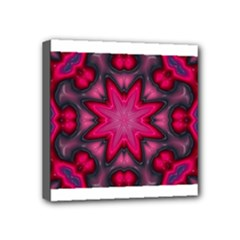 X_Red_Party_Style-777633 Mini Canvas 4  x 4  (Stretched)