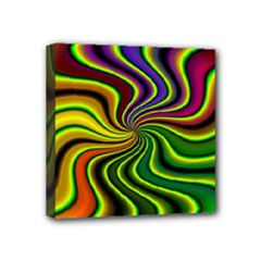 hippy-550591 Mini Canvas 4  x 4  (Stretched)