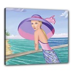 Palm Beach Purple Prints