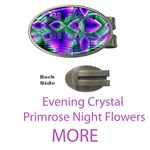 More Evening Crystal Primrose, Abstract Night Flowers