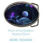 Fashion Music of my Goddess, Abstract Cyan Mystery Planet