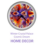 Home Decor Winter Crystal Palace, Abstract Cosmic Dream