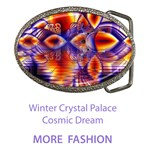 Fashion Winter Crystal Palace, Abstract Cosmic Dream