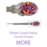 More Winter Crystal Palace, Abstract Cosmic Dream