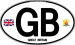 Great Britain Euro Oval - GB