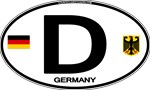 Germany Euro Oval - D