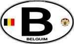 Belgium Euro Oval - B