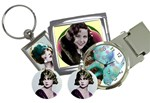 *JEWELLERY, KEYCHAINS, MONEYCLIPS ETC