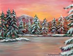 Jane s Winter Sunset