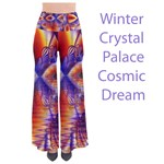 Winter Crystal Palace, Abstract Cosmic Dream