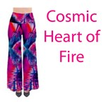 Cosmic Heart of Fire, Abstract Crystal Palace