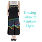 Flowing Fabric of Rainbow Light, Abstract