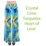 Crystal Lime Turquoise Heart of Love, Abstract