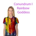 Conundrum I, Abstract Rainbow Woman Goddess