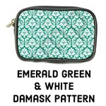 Emerald Green Damask