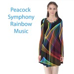 Peacock Symphony, Abstract Rainbow Music