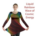 Liquid Rainbow, Abstract Wave of Cosmic Energy