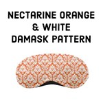 Nectarine Orange Damask pattern