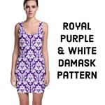 Royal Purple Damask Pattern