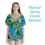 Mystical Spring, Abstract Crystal Renewal