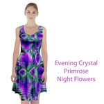 Evening Crystal Primrose, Abstract Night Flowers