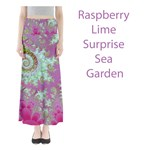Raspberry Lime Surprise, Abstract Sea Garden
