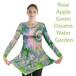 Rose Apple Green Dreams, Abstract Water Garden