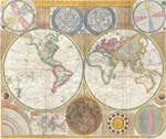 1794 World Map
