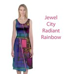 Jewel City, Radiant Rainbow Abstract Urban
