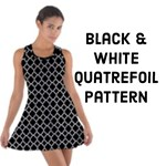Black & White Quatrefoil Pattern