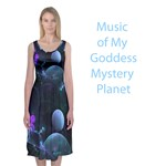 Music of my Goddess, Abstract Cyan Mystery Planet