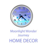 Home Decor Moonlight Wonder, Abstract Journey to the Unknown
