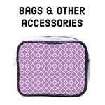 Bags & other accessories - Lilac Purple quatrefoil