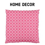 Home Decor - Soft Pink Quatrefoil