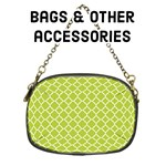 Bags & other accessories - Spring Green quatrefoil