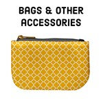 Bags & other accessories - Sunny Yellow quatrefoil